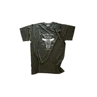 Tシャツ B&C East New York Brooklyn - Gangsta criminal crime mafia gang T-Shirt S-XXXL