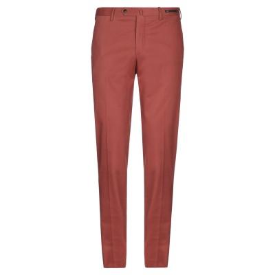 PT Torino パンツ 赤茶色 52 コットン 96% / ポリウレタン 4% パンツ