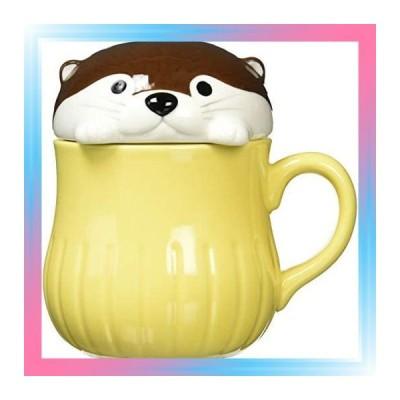チョコ/すっぽりマグ KAWAUSO CAFE カワウソすっぽりマグ チョコ