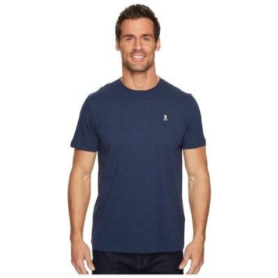 サイコバニー Psycho Bunny メンズ Tシャツ トップス Crew Neck T-Shirt Heather Navy