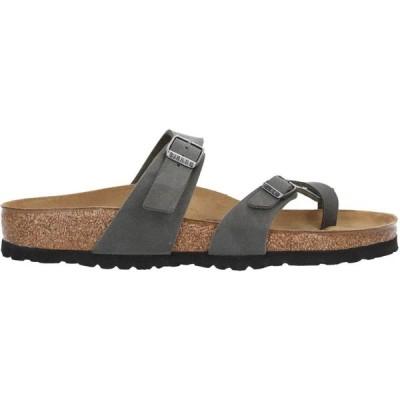 ビルケンシュトック BIRKENSTOCK メンズ ビーチサンダル シューズ・靴 flip flops Grey