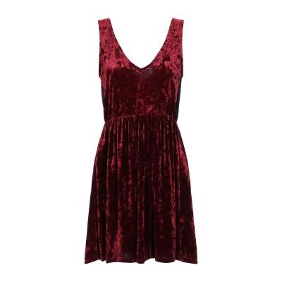 MANGANO ミニワンピース&ドレス ボルドー M ポリエステル 92% / ポリウレタン 8% ミニワンピース&ドレス