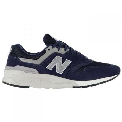 ニューバランス New Balance メンズ シューズ・靴 997H Trainers Navy/White