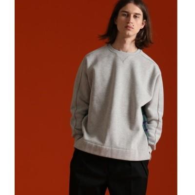 tシャツ Tシャツ [WEB限定]UNPERFECT裏起毛裏毛×ネルチェックトレーナー/スウェット