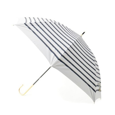 SOUP / 晴雨兼用ボーダーリボン長傘 WOMEN ファッション雑貨 > 長傘