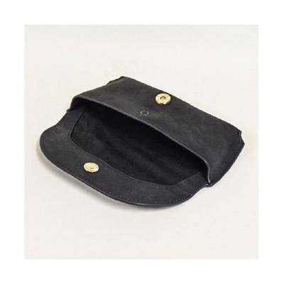 【レザーグッズショップ ハレルヤ】 眼鏡ケース サングラス ケース メンズ レディース 牛革 ユニセックス ブラック F Leather Goods Shop Hallelujah