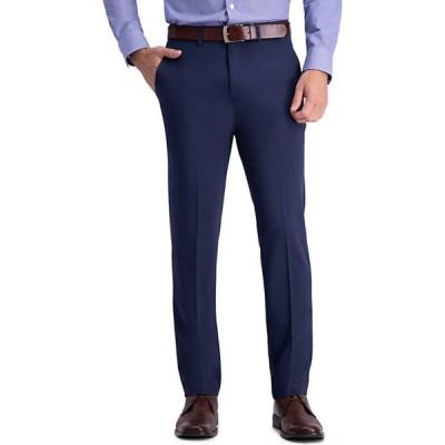 ハガー メンズ カジュアルパンツ ボトムス Active Series Straight Fit Flat Front Dress Pants
