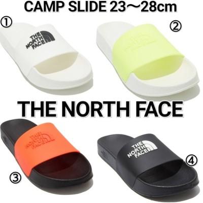 ノースフェイス THE NORTH FACE CAMP ロゴ シャワーサンダル  スライダー メンズ レディース 白 黄色 オレンジ 黒 NS98L02