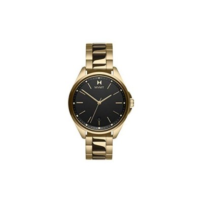 MVMT Women's Analogue Quartz Watch with Gold Tone Stainless Steel Strap 28000005-D 並行輸入品