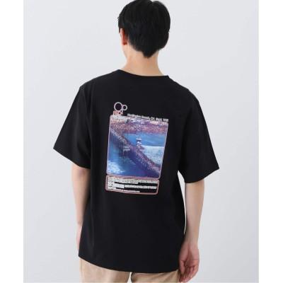 メンズ ベーセーストック 【Ocean Pacific / オーシャンパシフィック】 ex pro photo pt sst Tシャツ ブラック M