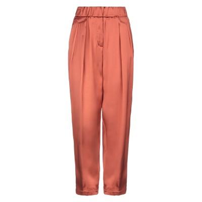 ファビアナフィリッピ FABIANA FILIPPI パンツ 赤茶色 42 レーヨン 100% パンツ