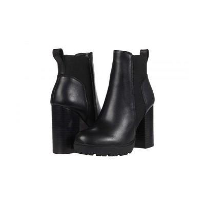 Steve Madden スティーブマデン レディース 女性用 シューズ 靴 ブーツ アンクル ショートブーツ Oleg Bootie - Black Leather