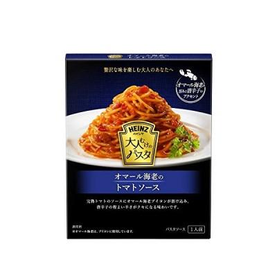 ハインツ 大人むけのパスタ オマール海老のトマトソース ×4箱