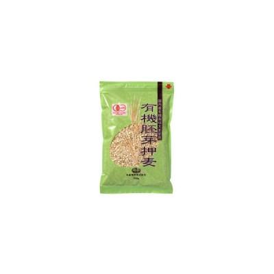 創健社 国内産有機栽培大麦使用 有機胚芽押麦 500g