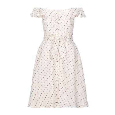 ペペ ジーンズ PEPE JEANS ミニワンピース&ドレス アイボリー L コットン 100% ミニワンピース&ドレス