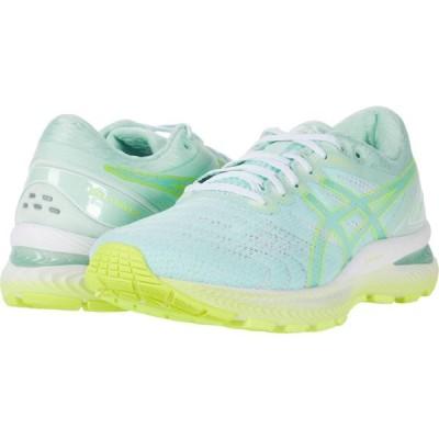 アシックス ASICS レディース ランニング・ウォーキング シューズ・靴 GEL-Nimbus 22 Mint Tint/Safety Yellow