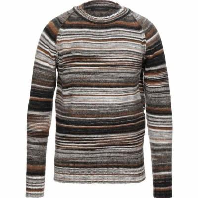 メッサジェリエ MESSAGERIE メンズ ニット・セーター トップス sweater Light grey