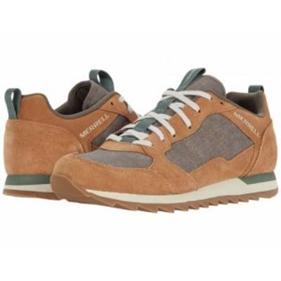 Merrell メレル メンズ 男性用 シューズ 靴 スニーカー 運動靴 Alpine Sneaker Tobacco【送料無料】