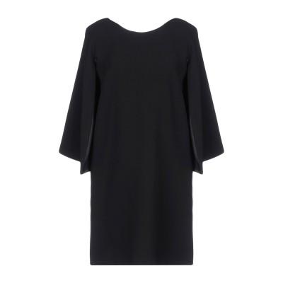 アンナリータ エンネ ANNARITA N ミニワンピース&ドレス ブラック 42 94% ポリエステル 6% ポリウレタン ミニワンピース&ドレス
