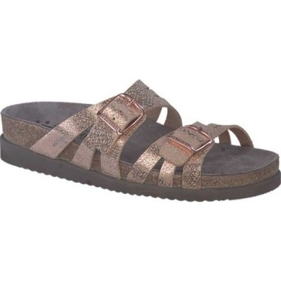 メフィスト Mephisto レディース サンダル・ミュール シューズ・靴 Helisa Slide Copper Edison Leather