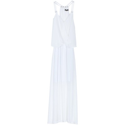 SOALLURE ロングワンピース&ドレス ホワイト 44 ポリエステル 100% ロングワンピース&ドレス