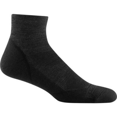 ダーンタフ Darn Tough メンズ ハイキング・登山 ソックス Light Hiker 1/4 Lightweight Cushion Sock Black