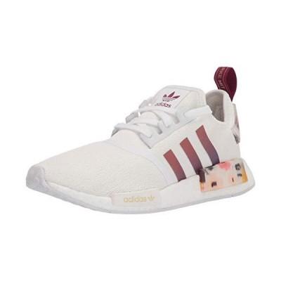 adidas Originals Women's NMD_R1 Sneaker, White/Power Berry, 9 US medium