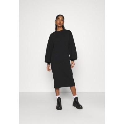 エンヴィ ワンピース レディース トップス ENBLOM DRESS - Day dress - black