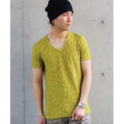 tシャツ Tシャツ 【ドラマ着用商品】TORNADO MART∴ジオメトリックJQ半袖カットソー