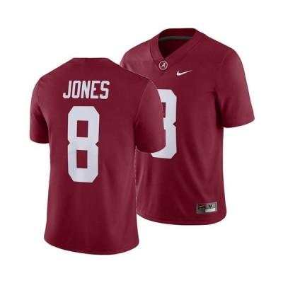 ナイキ メンズ シャツ トップス Men's Julio Jones Alabama Crimson Tide Player Game Jersey