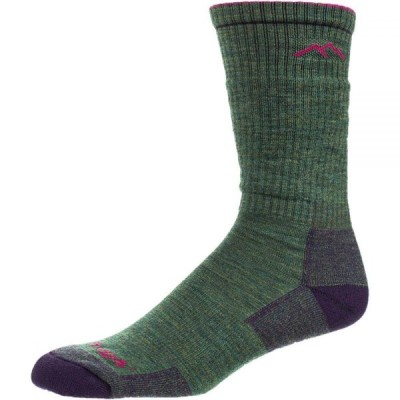 ダーンタフ Darn Tough レディース ハイキング・登山 ソックス Hiker Boot Cushion Sock Moss Heather