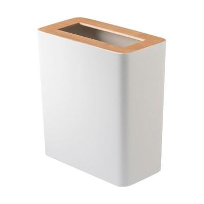 山崎実業(Yamazaki) トラッシュカン リン 角型 ナチュラル 3196 GB-RIN B BE RIN ゴミ箱 ダストボックス おしゃれ雑貨