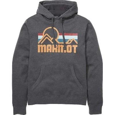 マーモット メンズ パーカー・スウェット アウター Marmot Men's Coastal Hoody - Big Tall Dark Steel Heather
