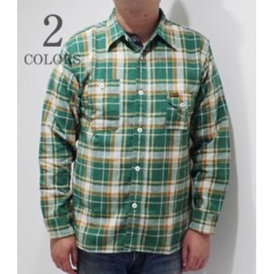 フェローズ 長袖 チェックワークシャツ PHERROWS ライトウェイトネルシャツ 20W-750WS-C