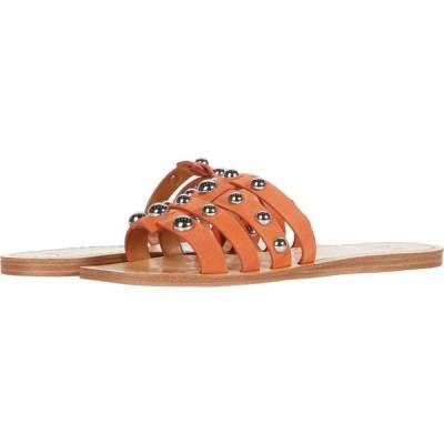 マーク フィッシャー Marc Fisher LTD レディース サンダル・ミュール シューズ・靴 Pava Orange Suede