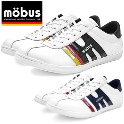 モーブス スニーカー mobus メンズ NEW MUNDEN ミュンデン レザー 本革 ローカット 靴 men's sneaker