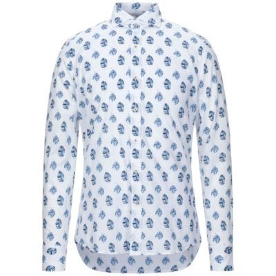 ALEA シャツ ホワイト 39 コットン 100% シャツ