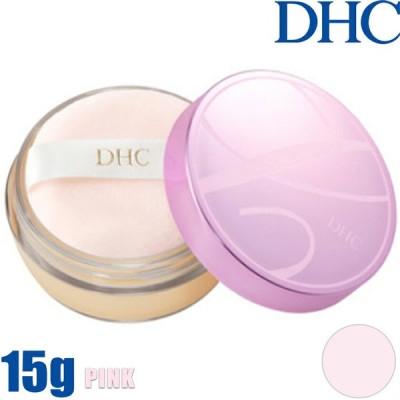 定形外郵便可 ディーエイチシー DHC Q10モイスチュアケア クリアフェースパウダー 15g パフ付 ピンク フェイスパウダー