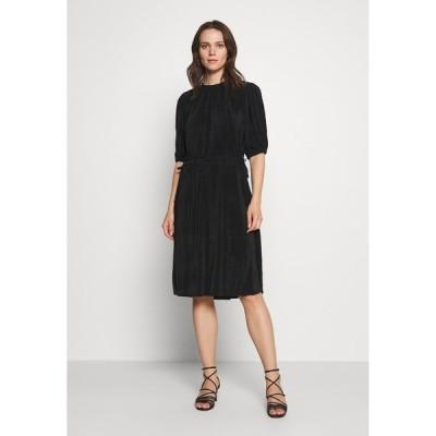 インウェア ワンピース レディース トップス KARLO DRESS - Day dress - black