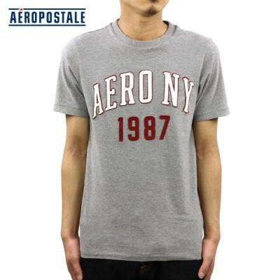 エアロポステール AEROPOSTALE 正規品 メンズ 半袖Tシャツ Aero NY 1987 Logo Graphic