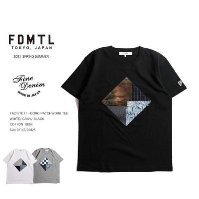 FDMTL BORO PATCHWORK TEE パッチワークTシャツ fa21ss