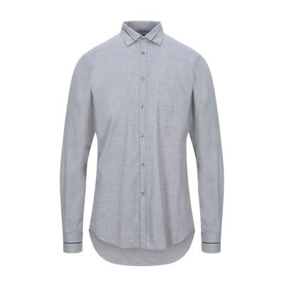 アリーニ AGLINI シャツ グレー 41 コットン 100% シャツ
