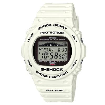 【G-SHOCK】G-LIDE(Gライド) / 電波ソーラー&タイドグラフ / GWX-5700CS-7JF / Gショック (ホワイト)