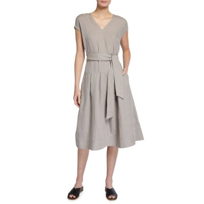 ラファイエットワンフォーエイト レディース ワンピース トップス Remington Illustrious Linen Midi Dress