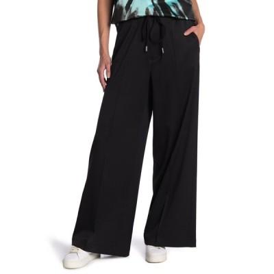 メゾンマルタンマルジェラ レディース カジュアルパンツ ボトムス Drawstring Waist Wide Leg Pants 900 BLACK