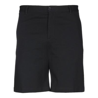 VERSACE バミューダパンツ ブラック XL レーヨン 64% / ナイロン 30% / ポリウレタン 6% バミューダパンツ