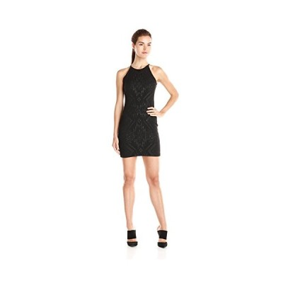 パーカー レディース Jaden オープン バック ドレス, ブラック, Medium(海外取寄せ品)
