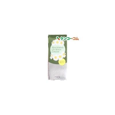 マニス ホワイトニングUVボディクリーム ( 80g ) ( 日焼け止め )