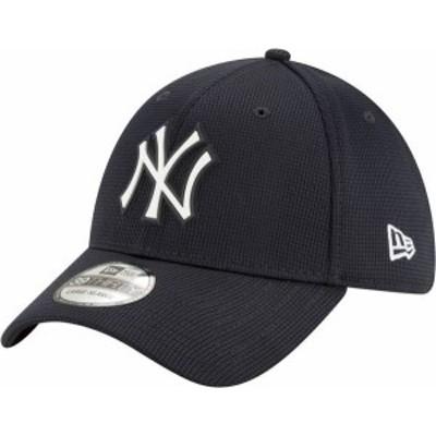 ニューエラ メンズ 帽子 アクセサリー New Era Men's New York Yankees Navy 39Thirty Clubhouse Stretch Fit Hat