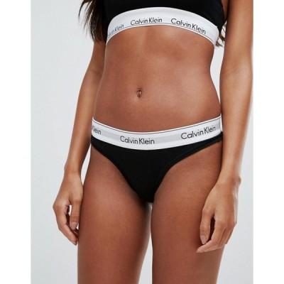 カルバンクライン レディース ブリーフパンツ アンダーウェア Calvin Klein modern cotton thong